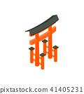 Floating Torii gate, Japan icon 41405231
