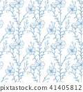 plant, floral, sketch 41405812