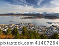 alesund, norway, town 41407294