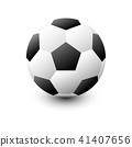 football isolate on white background 41407656
