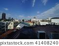 빌딩, 건물, 하늘 41408240