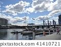 悉尼的海邊和遊艇和藍天 41410721