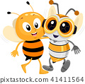 bee robot honeybee 41411564
