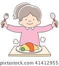 婴儿5岁的女孩_煎蛋卷饭 41412955