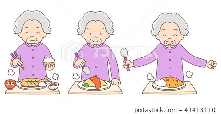 奶奶的饭套装 41413110