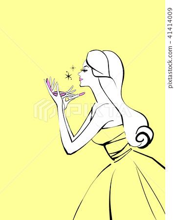 化妆背景颜色柠檬 41414009