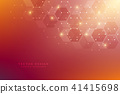 vector, molecule, background 41415698