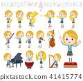 School girl White_classic music 41415774