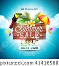 summer sale background 41416588