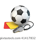 Football concept 3D 41417832