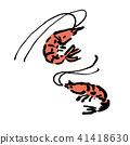 生猛海鲜 矢量 食物 41418630