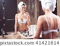 lingerie, woman, bathroom 41421614