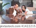 couple, technology, fun 41422215