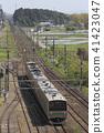 나스시오 바라 역을 출발하는 동북 선 205 계 (원래 사이 쿄선 차량) 41423047