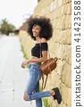 woman, african, portrait 41423588