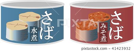 矢量 罐装的 罐头制造 41423932
