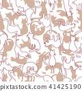 고양이, 동물, 디자인 41425190