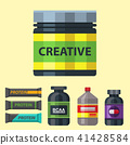 vector, gym, protein 41428584