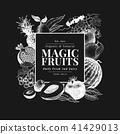 fruit, frame, hand 41429013