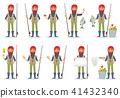 Fisher cartoon character 41432340