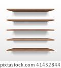 bookshelf vector 3d 41432844