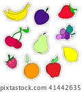 flat, set, fruit 41442635