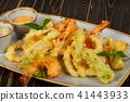 tempura prawn food 41443933