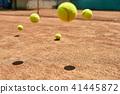 Jumping tennis balls 41445872