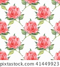floral, leaf, watercolor 41449923