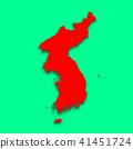 3D,지도,한국,북한 41451724