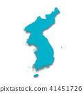 3D,지도,한국,북한 41451726