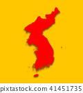 3D,지도,한국,북한 41451735