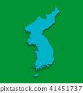 3D,지도,한국,북한 41451737