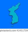 3D,지도,한국,북한 41451739