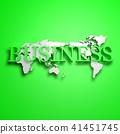 3D,글로벌,세계지도,비즈니스 41451745