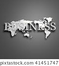 3D,글로벌,세계지도,비즈니스 41451747