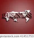 3D,글로벌,세계지도,비즈니스 41451753
