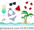 Summer vacation items 41453396