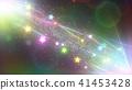 顆粒 粒子 閃閃發光的 41453428