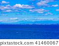도쿄 만, 바다, 푸른 하늘 41460067