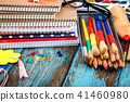 stationery pencil notebook 41460980