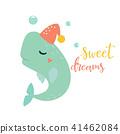 bright, card, whale 41462084