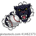 panther, ball, vector 41462373
