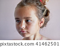 Little girl with chickenpox 41462501