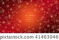 Golden snowflakes 41463046