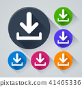 download circle icons with shadow 41465336