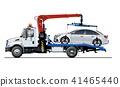vector, tow, truck 41465440