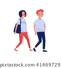 people vector flat 41469729