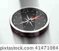 Modern Compass Pointing North 41471064