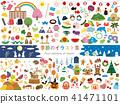 Seasonal illustrations 1 41471101